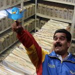 Nicolás Maduro ordenó imprimir todo Twitter