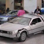 Se robaron el carro de Volver al Futuro en Bogotá