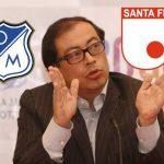 Gustavo Petro anuncia que desacata a la Dimayor y organizará final bogotana por su cuenta