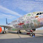 Aviones de Avianca serán pintados por grafiteros bogotanos