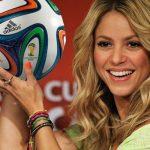 FIFA le pagará a Shakira con balones