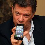 Si no gana el sí, no dejo traer el iPhone 7: Santos