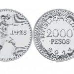Moneda de 2.000 de James no será apta para alcancías