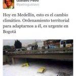 Alcaldía aclara episodio de foto de inundación de Medellín
