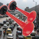 Ya ruedan en Bogotá los primeros carros con pito permanente.