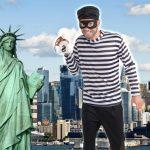 Ladrones de Nueva York usarán camisa a rayas y antifaz en Halloween