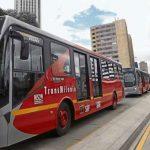 Buses de carril bus de la séptima estrenan mataburros