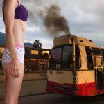 Humo de buses es responsable de cola plana de bogotanas, revela estudio