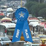 Policía colombiana, oro en Mundial de organización de trancones