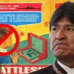 """Evo Morales veta al juego """"Batalla naval"""" en su país"""