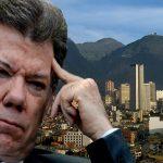 "Presidente Santos sufrió ""soroche"" al regresar a Bogotá"