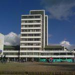 """Temblor de ayer """"enderezó"""" torre de enfermería de la Universidad Nacional"""