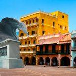 Alcalde de Cartagena inaugura monumento para darle la bienvenida a la marea del siglo