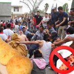 Escándalo: linchan cocinera en Cali por ponerle bocadillo a pandebonos