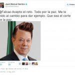 """Santos aceptó reto de Falcao para hacerse el """"corte bien"""""""
