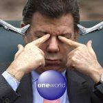 """Antes de irse, Santos aclaró que esta gira es """"con millas y dormida en sofacama"""""""
