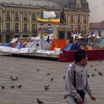 Ladrones de Transmilenio protestaron hoy por linchamientos