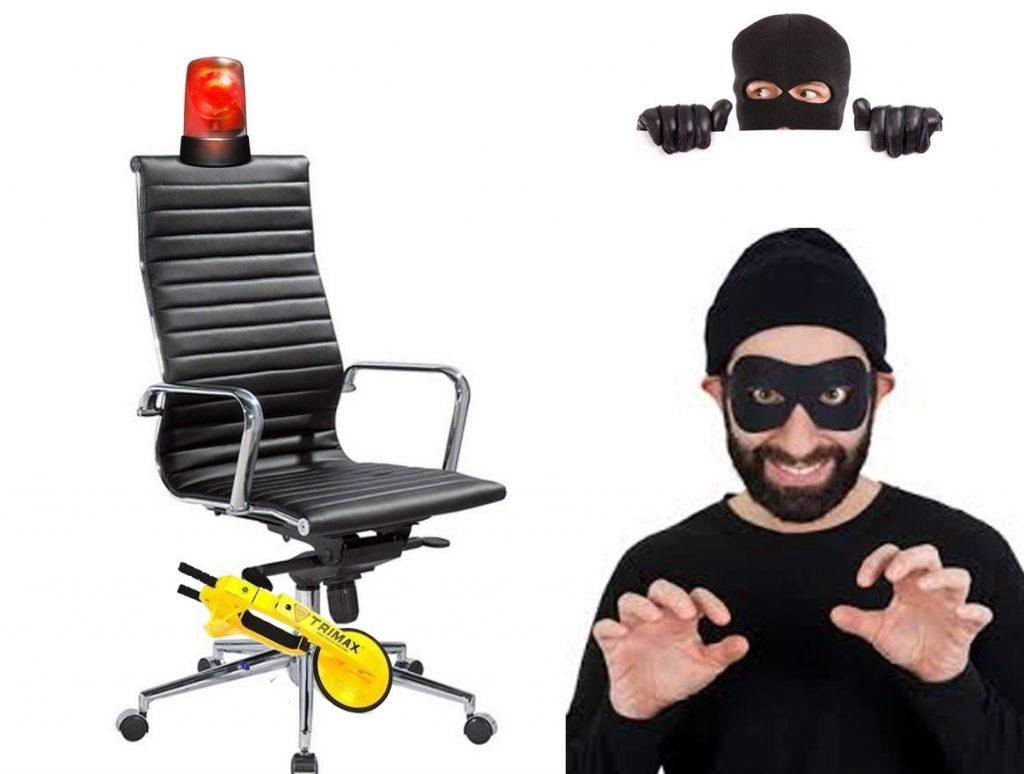 desarrollan alarma para evitar robo de sillas de oficina On sillas de oficina pelliza y panamericana