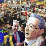Clonan tarjeta de Álvaro Uribe en Cúcuta
