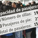 """""""Compresión de la materia en buses de Bogotá, altera leyes de la física y la matemática"""", expertos."""