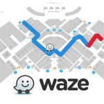 Waze estrena versión navideña para centros comerciales