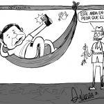 Caricatura: Caso de calentamiento.