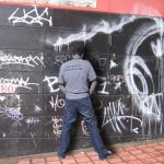Grafiteros bogotanos tendrán que marcar territorio con orines