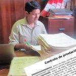 Encuentran extraño caso de contratista del Estado con contrato en enero