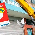 Cierran iglesia cristiana para abrir tienda D1