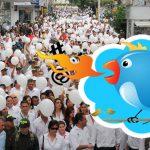 """""""Odiar en Internet no me impide ir a marchas por la paz"""", militante consumado"""