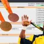 Medallistas colombianos deberán pagar salud y pensión antes de recibirlas