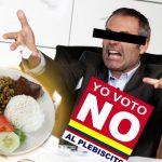 """Si no me cambian arroz por maduro, voto 'no' al plebiscito"": Ejecutivo bogotano"