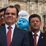 Pitufo Gruñón votará por el No en el plebiscito