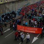 Grafiteros piden a manifestantes del 1 de mayo dejarles al menos un muro sin rayar